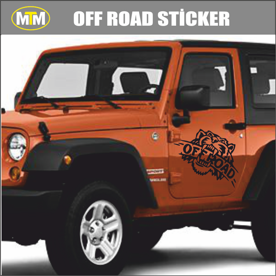 4x4 Off Road >> 4x4 Off Road Arslan Oto Sticker