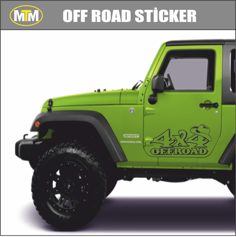 4x4 Off Road >> 4x4 Off Road Oto Sticker