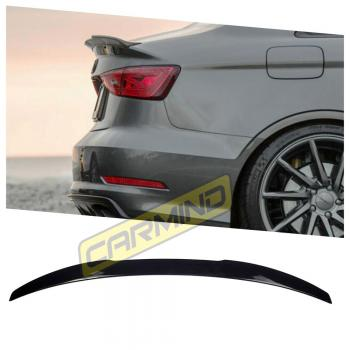 Audi A3 Sedan Votex Bagaj Üstü Piano Black Spoiler 2013-2019