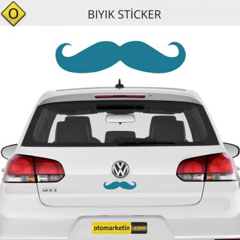 Bıyık Oto Sticker
