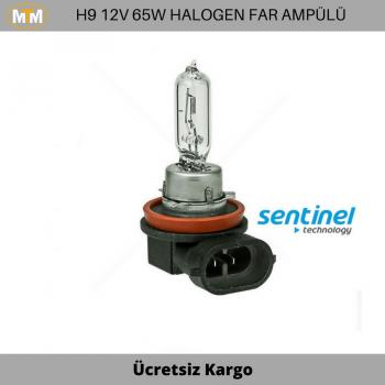 H9 Halogen Far ve Sis Ampülü 12V 65W