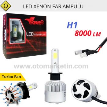 İnwells H1 Led Xenon Far Ampulu