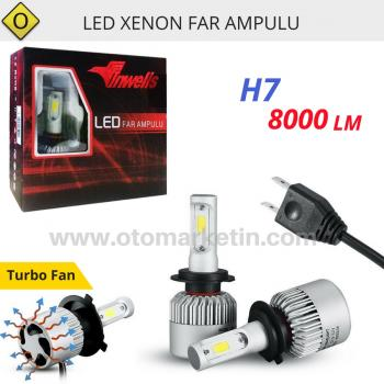 İnwells H7 Led Xenon Far Ampulu