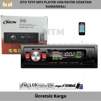 KGN Oto Teyp Mp3 Player 6001017