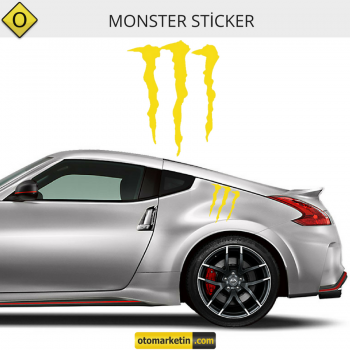 Monster Oto Sticker