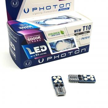 Photon T10 W5W 12V Beyaz Led PH7010 (2 Adet)