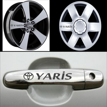 Toyota Yaris Kolu Jant Sticker