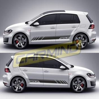 Volkswagen Golf 7 Yan Şerit Sticker 2013-2017