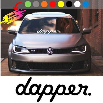 Dapper Oto Sticker