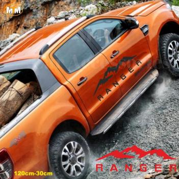 Ford Ranger Dağ Off Road Oto Sticker 1 Adet