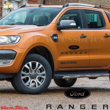 Ford Ranger Yan Kapı Off Road Oto Sticker 1 Adet