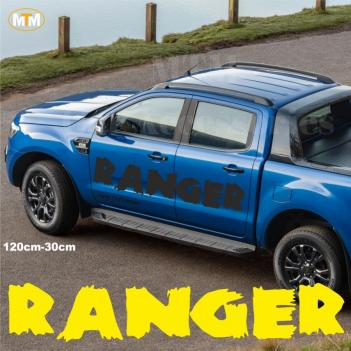 Ford Ranger Yan Kapı Off Road Oto Sticker (1 Adet)