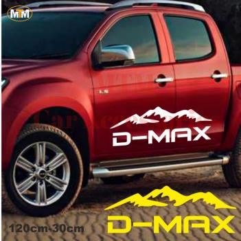 Isuzu D-Max Dağ Off Road Oto Sticker 1 Adet