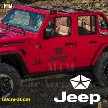 Jeep Yan Kapı Off Road Oto Sticker 1 Adet