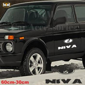 Lada Niva Yan Kapı Off Road Oto Sticker 1 Adet