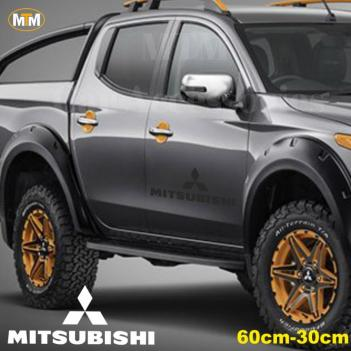 Mitsubishi Yan Kapı Off Road Oto Sticker 1 Adet