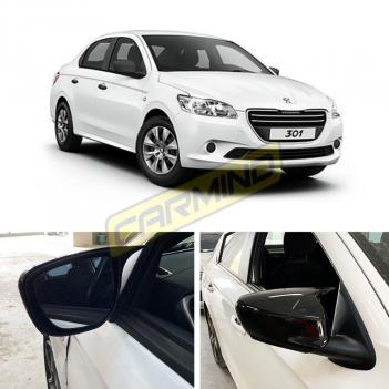 Peugeot 301 Batman Ayna Kapağı Piano Black