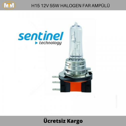H15 Halogen Far ve Sis Ampülü 12V 55W